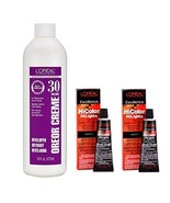 L'Oreal Hicolor HiLights for Dark Hair Only Magenta 2-Pack with 16 oz. O... - $24.36