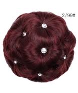 Woman nine flower belt drill hair bun head - $25.66