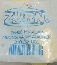 Zurn P6900 MV ADAP Mixing Valve Adapter Lead Free For Tub Faucets image 5