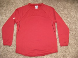 MAJESTIC BLANK ARIZONA DIAMONDBACKS THERMA BASE TECH FLEECE SWEATSHIRT Y... - $18.65