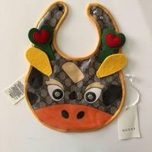 UNUSED GUCCI Octopus Starstuds Bib apron Bib styling baby GIFT vinyl Xma... - $178.20