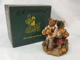 Boyds Bears #228438 Jim, Jody, Nicole... Biggest Ambitions. RETIRED PCEQ9 - $24.95