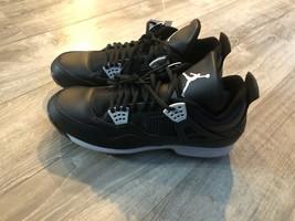 Nike Air Jordan 4 Iv Retro 807709010 Metal Football/Baseball Cleats Size 13 - $58.41