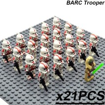 21pcs/set Star Wars The Clone Wars Stass Allie and Clone troopers Minifigures  - $29.99