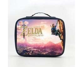 Children's Zelda Breath of the Wild logo  Lunch Box Lunch Bag - $19.99