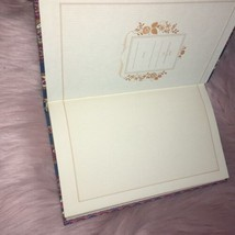 Vintage Quill Mark Fabric Journal Notebook New - $8.80