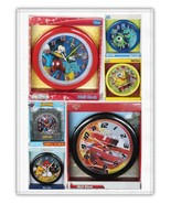 WALL CLOCK DISNEY DORA MICKY MINNIE FROZEN ANGRY BIRD SPIDERMAN, CARS, H... - $9.80+