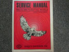 1985 1986 1987 harley davidson fx softail models service repair shop manual - $187.64