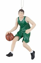 "GALLERIE II 4.75"" HAND PAINTED RESIN BOY BASKETBALL PLAYER SPORTS XMAS O... - $11.88"