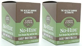 Earth Animal 2 Boxes of No-Hide Pork Stix, 90 Count Each, Rawhide Altern... - $140.38