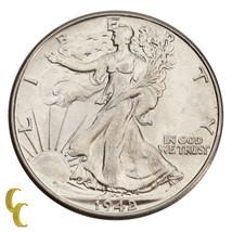1942 Walking Liberty Silver Half Dollar 50C (Choice BU Condition) Nice S... - $43.55