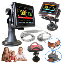New Born Touch ICU Patient Monitor Infant SPO2 Pulse Oximeter+Software+S... - $166.56