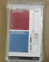 new MOTOROLA RADIUS P1225 Operator Guide New - $19.60