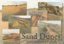 Postcard Sand Dunes Wind Sculptured Patterns Great Lakes Michigan Unused - $5.93