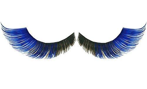 3 Pairs Little Forktail False Eyelashes Party False Eyelashes Art Eyelashes,Blue