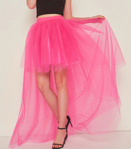 White Hilo Over-skirt / Wedding Bridal Wear Tulle Skirt / White Open Tulle Skirt image 13