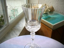 Royal Crystal Rock Aurea Pattern Clear Water Glass - $18.80