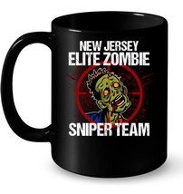 New Jersey Elite Zombie Sniper Team Ceramic Mug - $13.99+