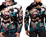 Nightwing fight  zipper hoodie men s  thumb155 crop