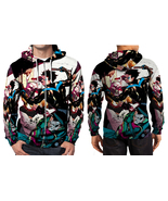 Nightwing Fight  Zipper Hoodie Men's - $48.99+