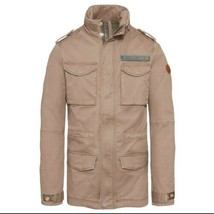 TIMBERLAND MEN'S CROCKER MOUNTAIN M65 JACKET LIGHT BROWN SIZE M - $128.70