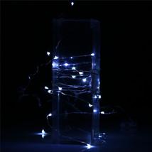 (20 LED white)10 LED Battery Operated Heart Shaped Christmas String Light F - $14.00