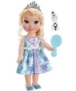 "Princess Elsa Frozen Toddler 14"" Doll Plus Olaf Snowman Friend, Disney, ... - $34.99"