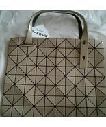 ISSEY MIYAKE Baobao New unused Beige tote bag made in Japan - $610.99