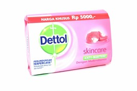 Dettol Skincare Anti-Bacterial Bar Soap, 105g - $3.00