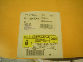 GM 12368064 ACDELCO D1922C HORN KIT FACTORY OEM PART NOS MADE IN FRANCE - $32.95