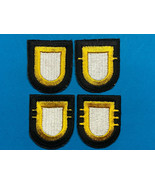 101st AIRBORNE DIVISION, HQs; 1st, 2nd, 3rd BATTALIONS, BERET FLASHES - $19.80