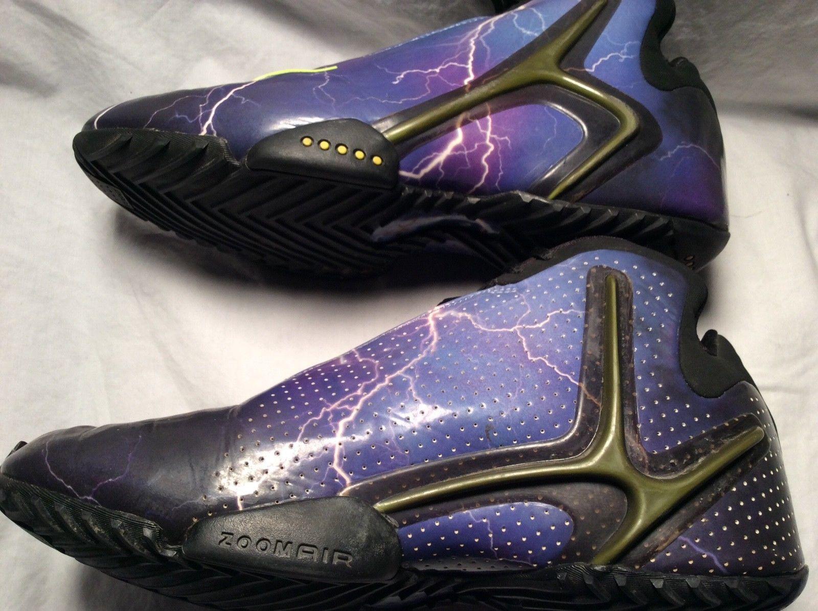 pretty nice d2ca4 e821b Nike Zoom Hyperflight PRM Blue Volt ACDC Lightning 587561 500 Kevin Durant  Sz 8