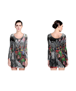 Crumbsuckers Life Of Dreams  Womens Sexy Long Sleeve Bodycon Dress - $23.99+