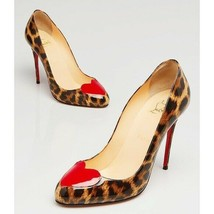 Christian Louboutin❤️Doracora Leopard Leather Pump 36 - $554.43