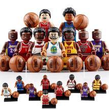 8pcs Basketball Player - Michael Jordan Tracy Mcgrady Kobe Bryant Minifigures - $15.95