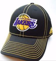 Los Angeles LA Lakers Adidas TN67Z NBA Basketball Team Logo Cap Hat - $21.99