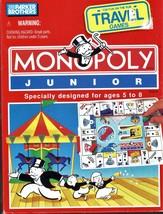 Monopoly Junior - Travel Game - $7.95
