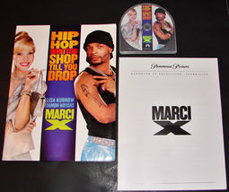 2003 MARCI X Movie PRESS KIT Folder CD Production Notes LISA KUDROW DAMO... - $15.47