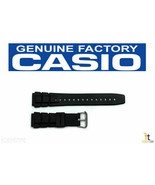 CASIO ALT-6000-1V Original 20mm Black Rubber Watch BAND Strap ALT-6100 - $19.75