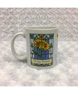 Avon Friendship Mother's Day Vintage Collectible Mug Cup w Quote and Sun... - £9.51 GBP