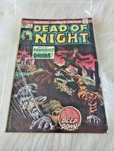 Vintage Marvel Comics Group Dead of Night Comic Book #5 (1970's) - $11.77