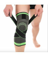 Pressurized Fitness Running Cycling Bandage Knee Support Braces Elastic ... - $16.01