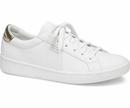 Keds WH59817 Women's Ace Mirror Leather White Rose Gold Shoes, 7.5 Med - $69.25