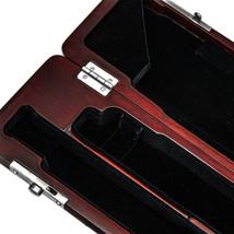 Paititi Mahogany Wood B foot Flute Hard Case French Style High Quliaty 17 Hol... - $78.39