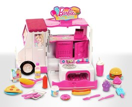 Barbie Food Truck comes with Food and Accessories - $321.02