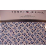 Tommy Hilfiger Blue Fish on White Sheet Set Twin - $42.00