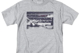 Rocky Classic Movie Boxing Championship Retro 70's 80's graphic T-shirt MGM235 image 3