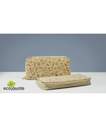 EcoQuote Zip Up Long Wallet Handmade Cork Eco Friendly Material Great fo... - $31.00