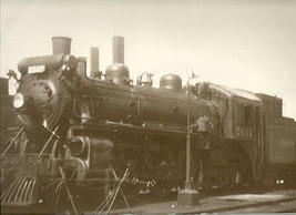 "Black & White Steam Train Photo 11"" X 14"" ENLARGEMENT RAILROAD 2662 Phot... - $10.85"