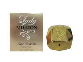 Lady Million 2.7 oz Eau de Parfum Spray for Women (New In Box) by Paco R... - $69.95